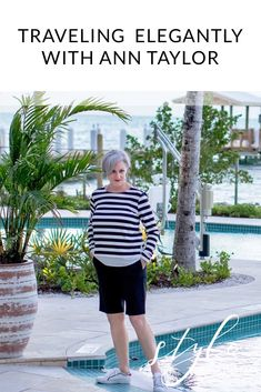 Travel elegantly and in style: a long weekend getaway with Ann Taylor – comfy travel outfit summer Comfy Travel Outfit, Cute Comfy Outfits, Travel Outfit Summer, Summer Outfits, Work Outfits, Over 50 Womens Fashion, Fashion Tips For Women, Fashion Over 50, Fashion Ideas