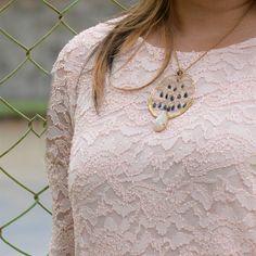 Morning dew: raindrop necklace
