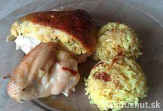 Fotorecept: Pečené plnené kura
