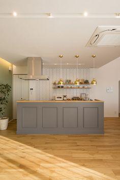インテリア/ACTUS/SLOWHOUSE/ARBO/アルボ/クラシスホーム/アクタス/スローハウス Kitchen Interior, Room Interior, Home Interior Design, Korean Apartment Interior, Muji Style, Kitchen Dining, Kitchen Cabinets, Natural Interior, Cool Rooms
