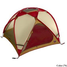 Moss King Dome Expedition Tent。今は亡きMossテント。ため息ものの造形。