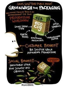 Greenwashed Packaging Cartoon Says It All : TreeHugger