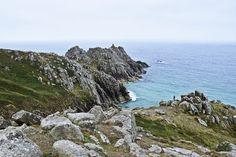 Südengland Roadtrip von Kent bis Cornwall | Porthcurno Coastal Path