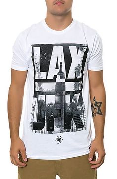 LAX-JFK Shirt The Empire State Of Mind Tee in White - Karmaloop.com 65f9407a9b6