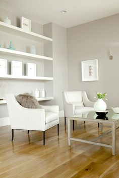 Private Residence. Interior Design by Alice Lane Home Collection.  (minimalistic, bright, white, simple, clean, modern)