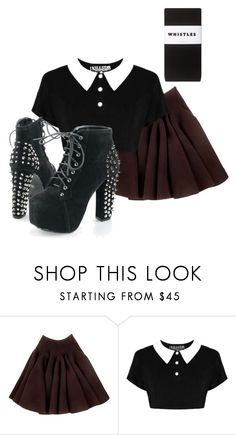 """""""Untitled #476"""" by kat-lawless ❤ liked on Polyvore featuring Rochas and Whistles"""