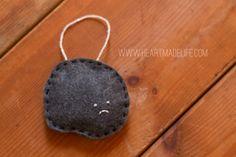 A sad lump of coal...I love him!