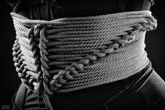 Rope corset