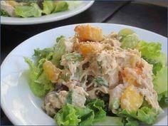 Pileća salata sa testeninom i susamom