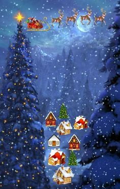 Christmas Images Free Download Christmas Scene Live Wallpaper Free