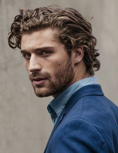 New hairstyles for men with curly hair life 61 ideas Faded Beard Styles, Hair And Beard Styles, Curly Hair Styles, Mens Long Hair Styles, Haircuts For Long Hair, Haircuts For Men, Men Curly Hairstyles, Long Curly Hair Men, Teen Boy Hairstyles