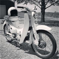 My 1963 Honda 50 Super Cub C102