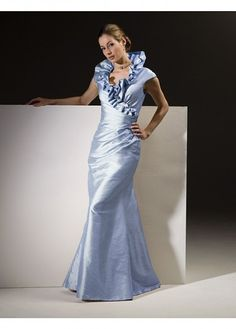 Glamorous mermaid taffeta Mother of the Bride Dress With First-Class Fabric in Fashion Design - Bridal Party