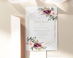 Bridal Brunch Invitation Bridal Luncheon Invitation | Etsy