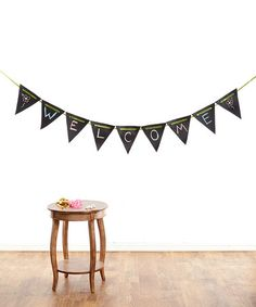 Look what I found on #zulily! School Days Chalkboard Pennant Set by Over The Moon #zulilyfinds
