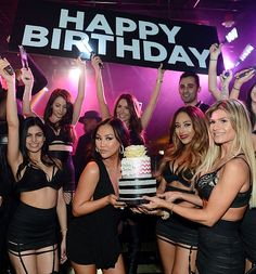 Dorothy Wang of Rich Kids Of Beverly Hills celebrates her birthday at 1 OAK Nightclub at The Mirage Hotel & Casino (Photo credit: Denise Truscello / WireImage)