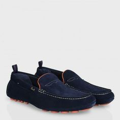 Paul Smith Men's Shoes - Navy Suede Rico Driving Shoes Paul Smith, Men's Shoes, Dress Shoes, Man Party, Suede Leather Shoes, Driving Shoes, Mens Fashion, Fashion Outfits, Party Shoes