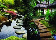 Thiết kế cảnh quan sân vườn và phong thủy luôn có sự liên quan mật thiết mới nhau.