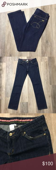 Hurley Women's Jeans Hurley Women's Dark Straight Leg Jeans. Like new! Perfect condition! Size 7. 38 inches long. 98% cotton. 2% Spandex. Make offer! Hurley Jeans Straight Leg