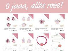* ALLES ROZE * Alles roze, de kleur van onvoorwaardelijke liefde en pure vriendschap. Roze staat vaak voor de geboorte of de wens van een meisje. SHOP HIER alles roze >>> http://www.applepiepieces.com/c-3644221/roze/