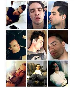 Well this isn't creepy. Just a bunch of pictures of Brendon Urie sleeping.