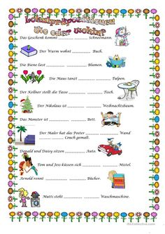 Possessivartikel | german | Pinterest | Worksheets