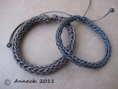 you make this with a small french knitting loom - or a wooden cotton spool & 4 nails and a crochet hook.