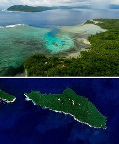 Tetepare Island in the Solomon Islands has been uninhabited since the mid-19th century when members of its native tribe fled to surrounding islands due to an increasing threat from headhunters. The island is 45.5 square miles (118 km²) in area and is the largest uninhabited island in the western Pacific Ocean region.