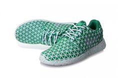 bc711cabaf86 UK Womens Nike Roshe Run Metric QS Tropical Twist Metallic Silve Barefoot  Running Shoes