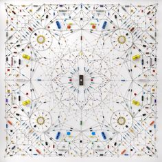 Technological Mandalas by Leonard Ulian - http://designyoutrust.com/2014/09/technological-mandalas-by-leonard-ulian/