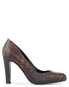 Chaussures Femme en Marron - Noir - Escarpin - Izzi - Minelli