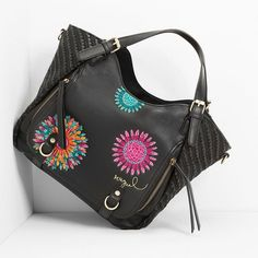 0fd8db57620b Desigual Rotterdam Far West 61X50J0 Printemps été 2016 Jute, Collection,  Jean Bag,
