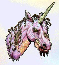 zombie unicorn!