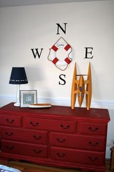 This one might be for my own boy one day... LOVE a nautical theme!!!