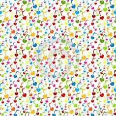 Illustration about Colorful seamless music notes with heart shape background. Illustration of creative, musical, background - 26907886 Music Note Heart, Seamless Background, Music Notes, Abstract Pattern, Music Is Life, Heart Shapes, Sprinkles, Musicals, Illustration