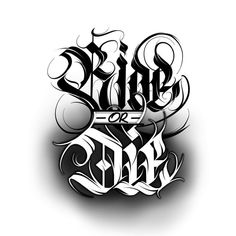 Calligraphie « Ride or Die Chicano Tattoos Lettering, Tattoo Lettering Design, Graffiti Lettering Fonts, Tattoo Design Drawings, Creative Lettering, Tattoo Designs, Graffiti Tattoo, Lettering Tattoo, Script Lettering