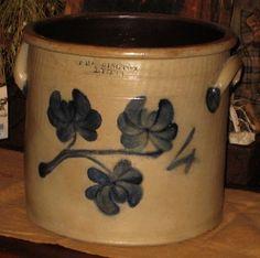 Antique crock