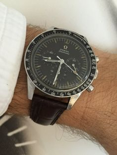 "Vintage OMEGA Speedmaster ""Ed White"" Calibre 321 Moonwatch Circa 1960s - https://omegaforums.net"
