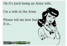 Every damn day of MY military career...