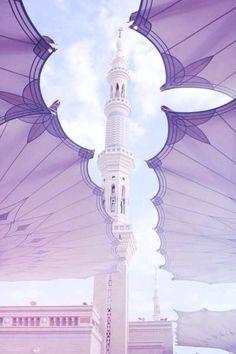 Islam Iman & Ihsan — May Allah Make Us Among the True Believers. Islamic World, Islamic Art, Islamic Quotes, Medina Mosque, Masjid Al Haram, Mekkah, Islamic Wallpaper, Mecca Wallpaper, Beautiful Mosques
