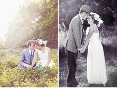 An Earthy Vintage Wedding II