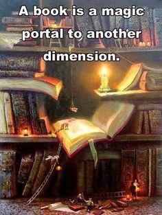 Magic portals to other dimensions...