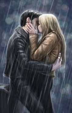 Killian Jones (Captain Hook) and Emma Swan - captainswan ouat fan art draw Once Upon A Time, Anime Couples, Cute Couples, Everybody Talks, November Rain, Hook And Emma, Killian Jones, Captain Hook, Captain Swan Kiss