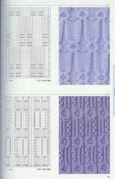 Kira knitting: Knitted pattern no. 57