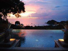 Sonnenuntergang über der Traumbucht des Pimalai Resorts  Foto: Uli Eder http://www.abendzeitung-muenchen.de/inhalt.koh-lanta-ein-geheimtipp-in-thailand.d93365df-f786-4f98-bd62-1e7ac92960f1.html