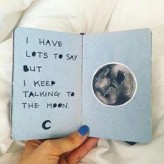 #notebook #blue #moon