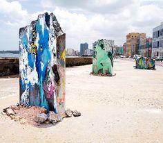 José Parla - Malecón y Belascoain. Detrás del Muro / Behind the Wall 2015