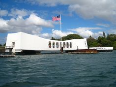 Pearl Harbor Memorial by Stephan Segraves, via Flickr
