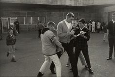 Gary Winogrand: On the road - Candlestick Park, San Francisco, gelatin-silver print