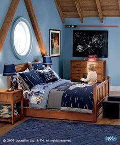 How To Decorate Star Wars Children Bedroom - Star Wars Bedding
